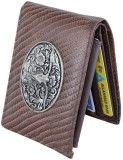 Holboro Men Brown Genuine Leather Wallet...