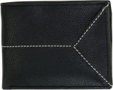 Rabarman Men Black Genuine Leather Walle...