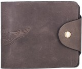 Hidegear Men Brown Genuine Leather Walle...