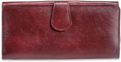 Arum Women Brown Genuine Leather Wallet