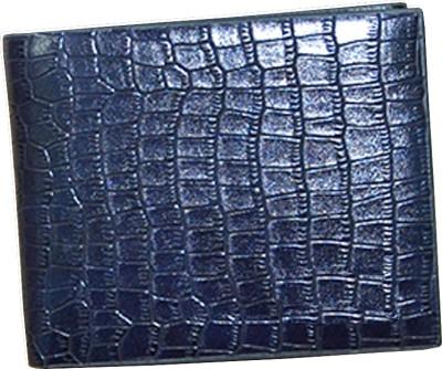 Bizarre Kraftz Men Blue Artificial Leather Wallet