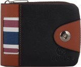 Bovis Men Black Genuine Leather Wallet (...