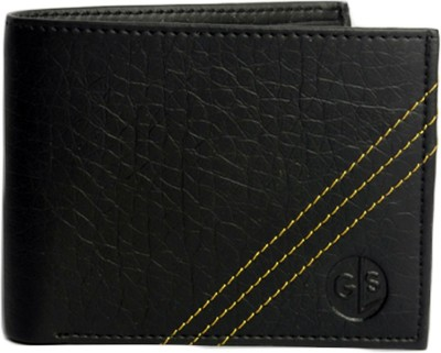 Good Life Stuff Men Black Artificial Leather Wallet(3 Card Slots)