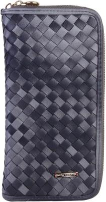 Lino Perros Women Grey Artificial Leather Wallet