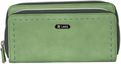 Lavie Women Green Artificial Leather Wallet(4 Card Slots)