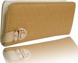 Samco Fas Girls Beige Canvas Wallet (2 C...