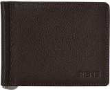 Rene Men Brown Genuine Leather Wallet (6...