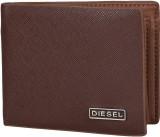 Diesel Men Brown Genuine Leather Wallet ...