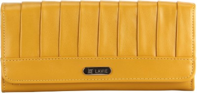 Lavie Women Tan Artificial Leather Wallet(5 Card Slots)