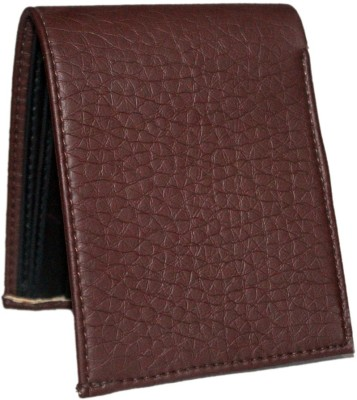 Bacchus Men Brown Artificial Leather Wallet