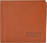 Le Craf Men Tan Genuine Leather Wallet (...