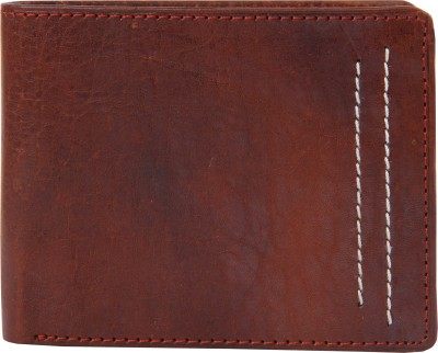 Walletsnbags Men Multicolor Genuine Leather Wallet(3 Card Slots)