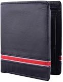 Yark Men Black Genuine Leather Wallet (6...