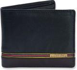 Ecohide Men Black Genuine Leather Wallet...