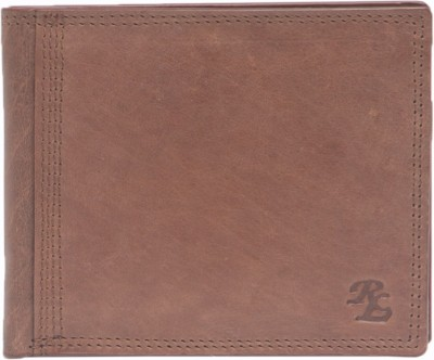 Walletsnbags Men Tan Genuine Leather Wallet(5 Card Slots)