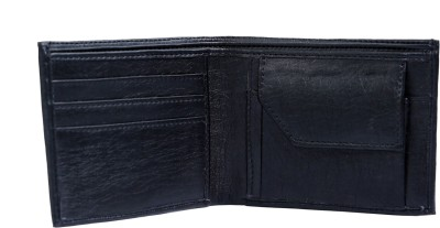 Contra Men Black Artificial Leather Wallet