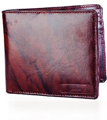 Lady bar Men Brown Genuine Leather Wallet(3 Card Slots) at flipkart