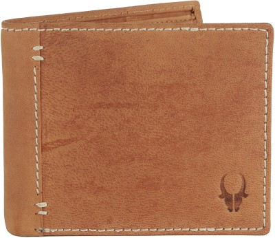 WildHorn Men Tan Genuine Leather Wallet(3 Card Slots)