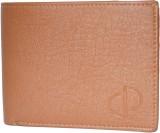 Prajo Men Brown Genuine Leather Wallet (...