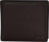 Rene Men Brown Genuine Leather Wallet (5...