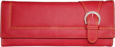 Meridian Women Travel Red Artificial Leather Wallet