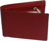 eXcorio Men Red Genuine Leather Wallet (...