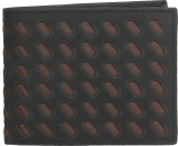 Denali Men Black Genuine Leather Wallet ...