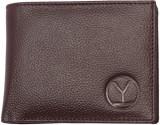 Ystore Men Brown Genuine Leather Wallet ...
