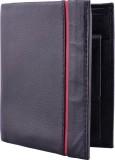 Yark Men Black Genuine Leather Wallet (3...