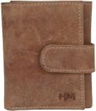 Hidemaxx Men Tan Genuine Leather Wallet ...