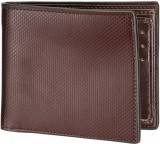 Orkee Men Brown Artificial Leather Walle...