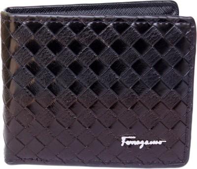 sankalp Men Black Genuine Leather Wallet