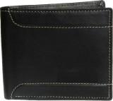 Kapi Men Black Genuine Leather Wallet (3...