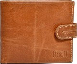 Knott Men Brown Genuine Leather Wallet (...