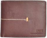 Second Skin Men Brown Genuine Leather Wa...