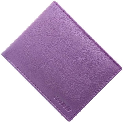 cotnis Men Purple Artificial Leather Wallet