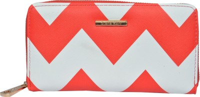 Diana Korr Women, Girls Casual, Formal White, Red Artificial Leather Wallet