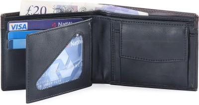 Hide & Sleek Men Black Artificial Leather Wallet