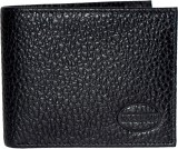 Woodland Men Black Genuine Leather Walle...