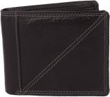 Kapi Men Black Genuine Leather Wallet (8...