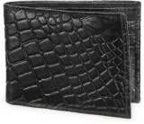 Arum Men Black Genuine Leather Wallet (6...