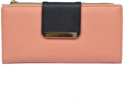 Diana Korr Women, Girls Casual, Formal Pink Artificial Leather Wallet