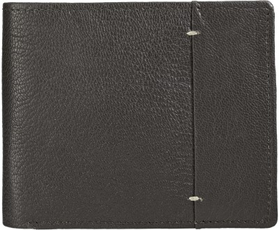 Teakwood Men Brown Genuine Leather Wallet(4 Card Slots)