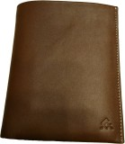 Leather Mall Men Tan Genuine Leather Wal...