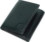 JMD Men Black Genuine Leather Wallet (8 ...