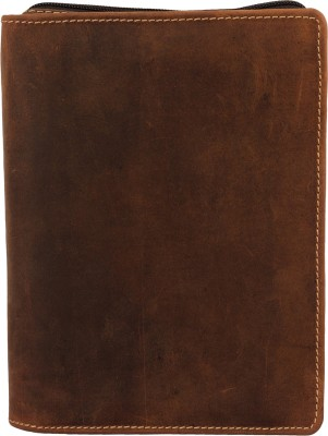 Route Men, Women Casual, Formal Brown Genuine Leather Document Holder