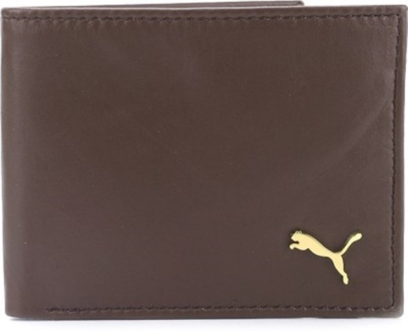 Urban Style Men Brown Genuine Leather Wallet(4 Card Slots)