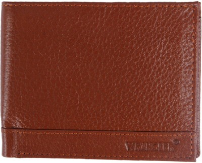 Wrangler Men Tan Genuine Leather Wallet(13 Card Slots)