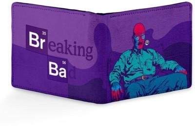 Rockmantra Men Casual, Formal Purple Genuine Leather Wallet
