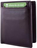 Yark Men Brown Genuine Leather Wallet (7...